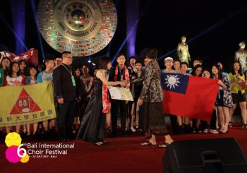 SHU Chorus Took the Gold in Indonesia! Faculty and Students Send Their Congrats